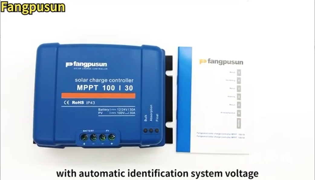 Fangpusun Mppt Solar Charging Controller Mppt 100 30a