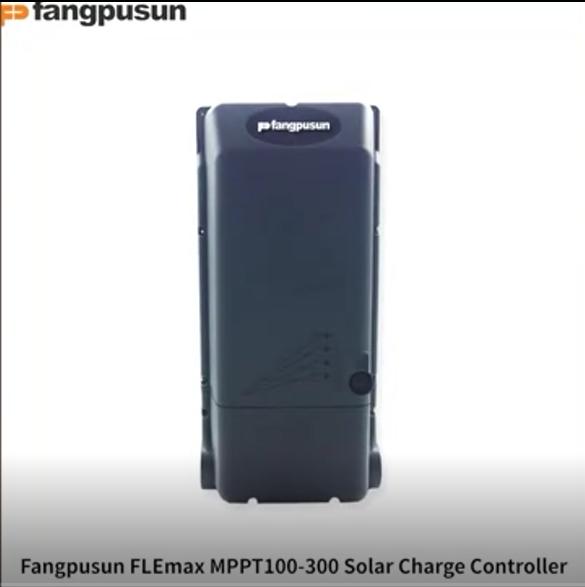 Fangpusun 100A MPPT solar charging controller, high power hybrid controller