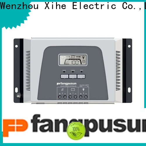 Fangpusun solar best 12v solar panel regulator company for solar system