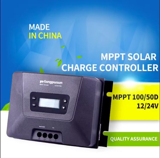 Fangpusun MPPT 150 / 45D Solar Charge Controller voltage set to 36V operating instructions