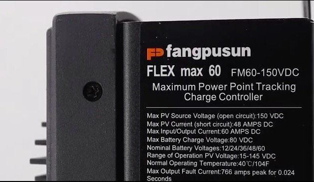 Fangpusun Photovoltaic Series Products MPPT Solar Charge Controller,FLEXmax MPPT60 product introduction