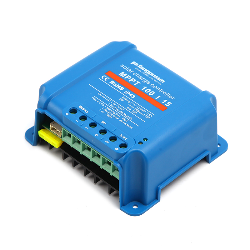 Blue MPPT Solar battery charge controller 5A 10A 15A MPPT100/15