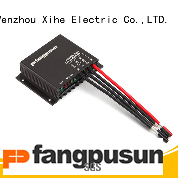 Fangpusun cheap pwm solar controller from China for home power solar