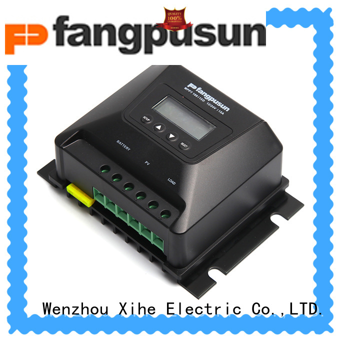 Xihe good quality solar charge controller 30a lcd for battery charger