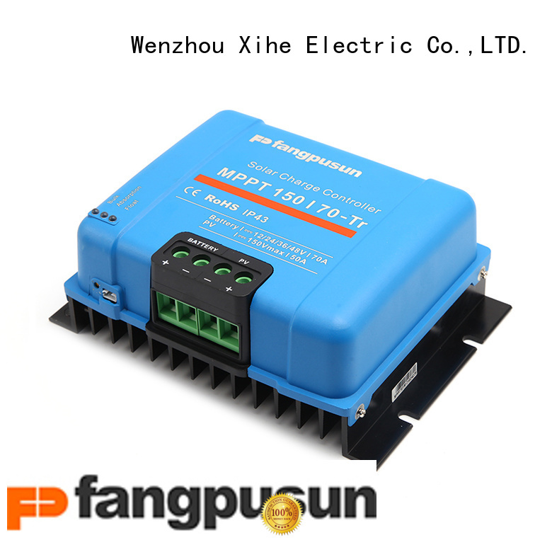 Xihe custom 24v mppt solar charge controller 50d for home