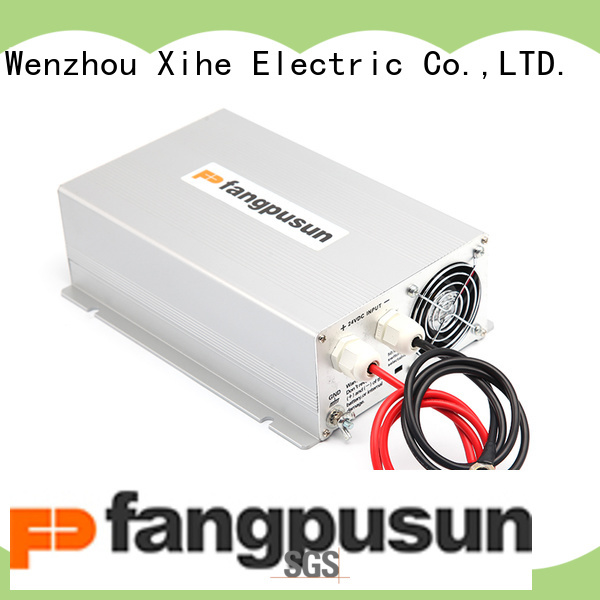 Fangpusun pure power inverter charger international market for recreation vehicles