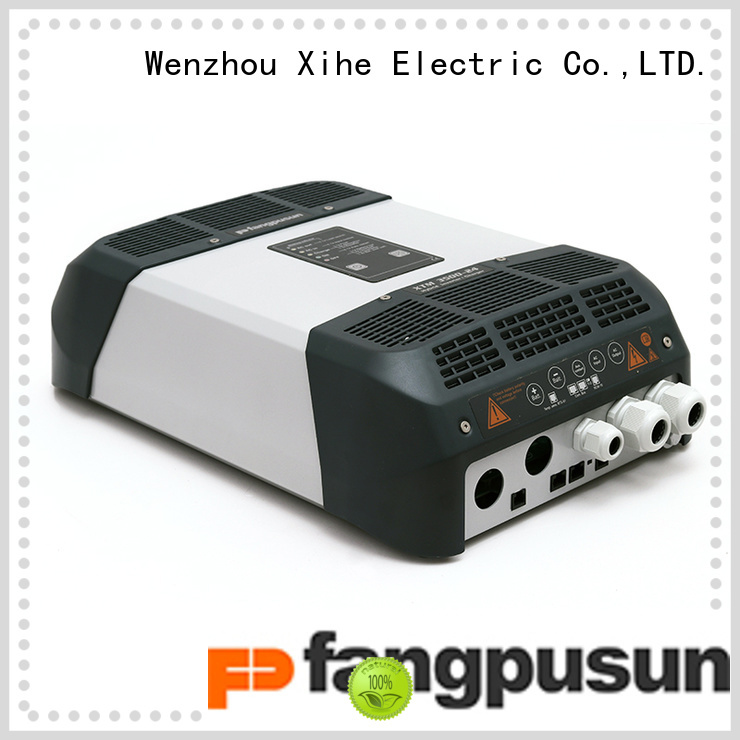 Fangpusun hybrid solar inverter charger for mobile offices