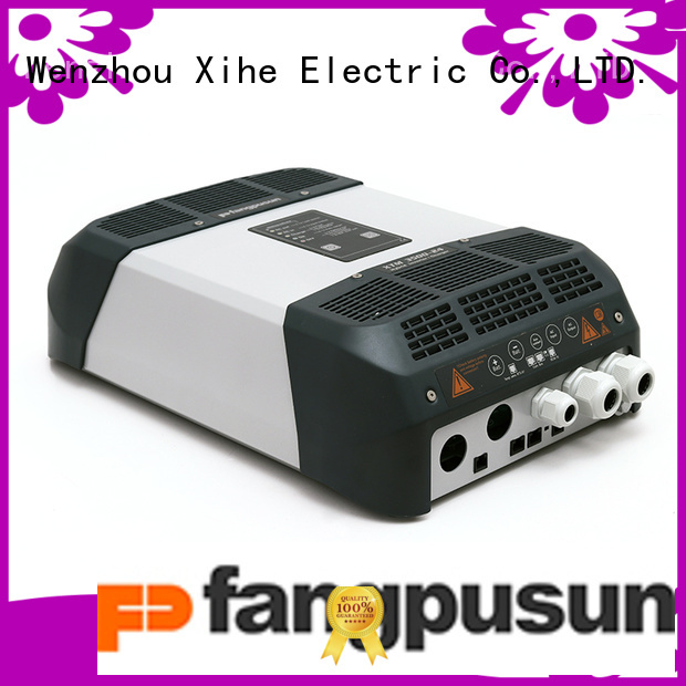 Fangpusun highly recommend hybrid solar inverter charger producer for boats