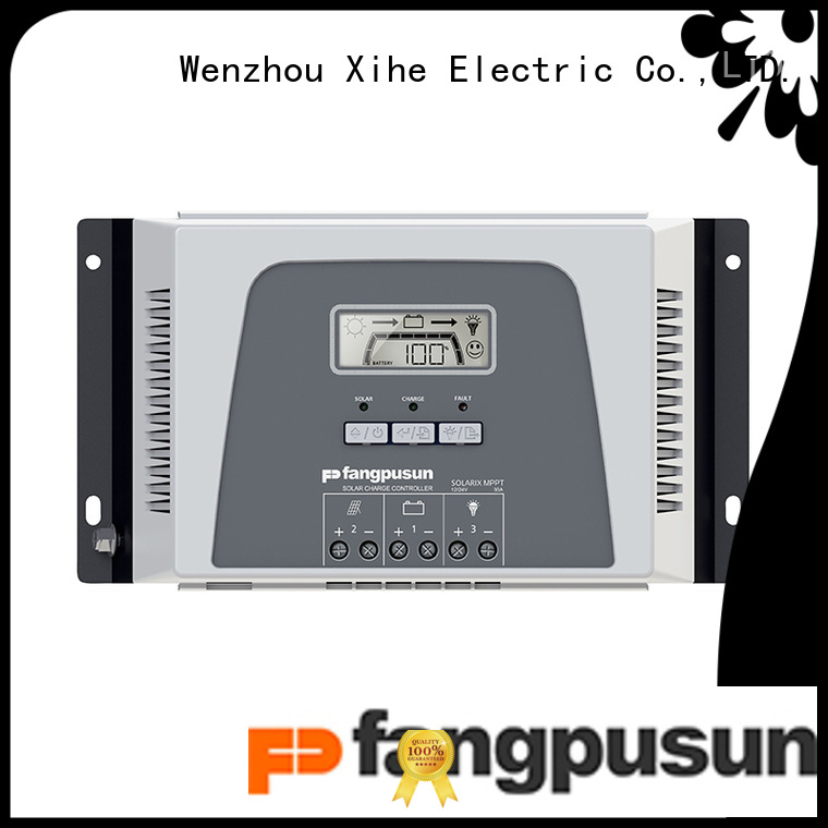 Fangpusun good quality mppt solar charge controller diy suppliers for solar system