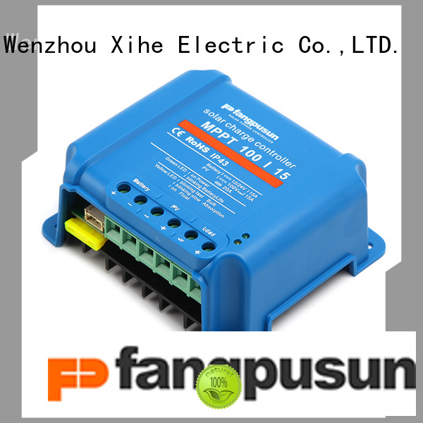 Fangpusun solarix 50 amp mppt charge controller order now for solar system