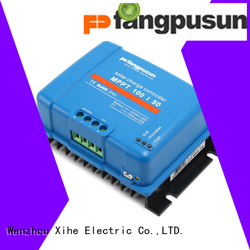 Fangpusun 60a mppt solar charge controller price in india manufacturers for battery charger