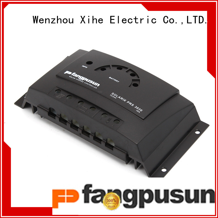 Fangpusun with new design pwm solar charger from China for all in one solar street light